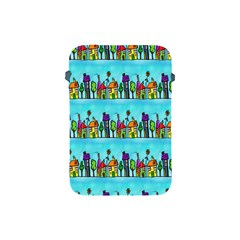 Colourful Street A Completely Seamless Tile Able Design Apple iPad Mini Protective Soft Cases
