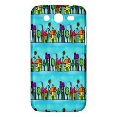 Colourful Street A Completely Seamless Tile Able Design Samsung Galaxy Mega 5.8 I9152 Hardshell Case