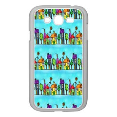 Colourful Street A Completely Seamless Tile Able Design Samsung Galaxy Grand Duos I9082 Case (white)