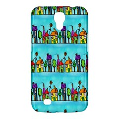 Colourful Street A Completely Seamless Tile Able Design Samsung Galaxy Mega 6 3  I9200 Hardshell Case