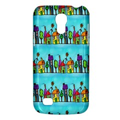 Colourful Street A Completely Seamless Tile Able Design Galaxy S4 Mini