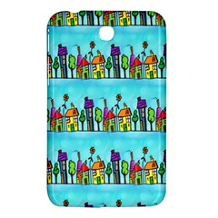 Colourful Street A Completely Seamless Tile Able Design Samsung Galaxy Tab 3 (7 ) P3200 Hardshell Case