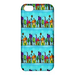 Colourful Street A Completely Seamless Tile Able Design Apple iPhone 5C Hardshell Case