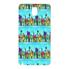 Colourful Street A Completely Seamless Tile Able Design Samsung Galaxy Note 3 N9005 Hardshell Back Case
