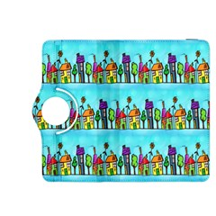 Colourful Street A Completely Seamless Tile Able Design Kindle Fire Hdx 8 9  Flip 360 Case