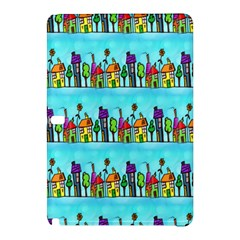 Colourful Street A Completely Seamless Tile Able Design Samsung Galaxy Tab Pro 10.1 Hardshell Case