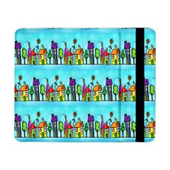 Colourful Street A Completely Seamless Tile Able Design Samsung Galaxy Tab Pro 8.4  Flip Case