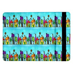 Colourful Street A Completely Seamless Tile Able Design Samsung Galaxy Tab Pro 12.2  Flip Case