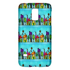 Colourful Street A Completely Seamless Tile Able Design Galaxy S5 Mini
