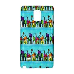 Colourful Street A Completely Seamless Tile Able Design Samsung Galaxy Note 4 Hardshell Case