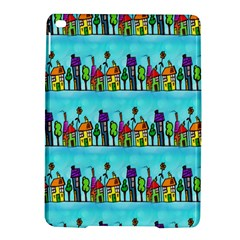 Colourful Street A Completely Seamless Tile Able Design Ipad Air 2 Hardshell Cases