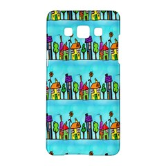 Colourful Street A Completely Seamless Tile Able Design Samsung Galaxy A5 Hardshell Case