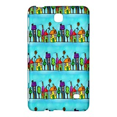Colourful Street A Completely Seamless Tile Able Design Samsung Galaxy Tab 4 (8 ) Hardshell Case