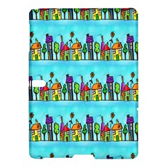 Colourful Street A Completely Seamless Tile Able Design Samsung Galaxy Tab S (10 5 ) Hardshell Case