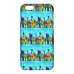Colourful Street A Completely Seamless Tile Able Design iPhone 6/6S TPU Case