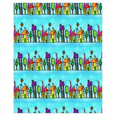 Colourful Street A Completely Seamless Tile Able Design Drawstring Bag (small)