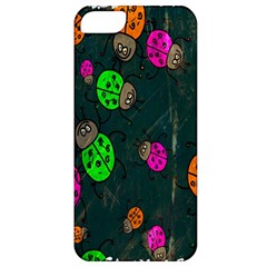Cartoon Grunge Beetle Wallpaper Background Apple Iphone 5 Classic Hardshell Case