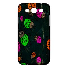 Cartoon Grunge Beetle Wallpaper Background Samsung Galaxy Mega 5.8 I9152 Hardshell Case
