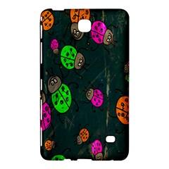 Cartoon Grunge Beetle Wallpaper Background Samsung Galaxy Tab 4 (8 ) Hardshell Case