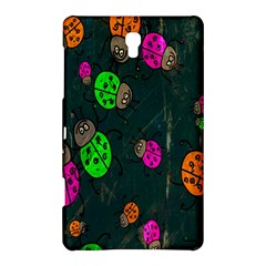 Cartoon Grunge Beetle Wallpaper Background Samsung Galaxy Tab S (8 4 ) Hardshell Case
