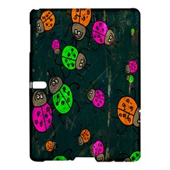 Cartoon Grunge Beetle Wallpaper Background Samsung Galaxy Tab S (10.5 ) Hardshell Case
