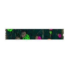 Cartoon Grunge Beetle Wallpaper Background Flano Scarf (Mini)