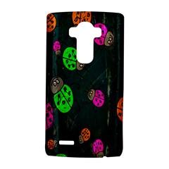 Cartoon Grunge Beetle Wallpaper Background LG G4 Hardshell Case