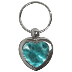 Light Web Colorful Web Of Crazy Lightening Key Chains (Heart)
