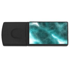 Light Web Colorful Web Of Crazy Lightening USB Flash Drive Rectangular (2 GB)
