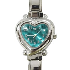 Light Web Colorful Web Of Crazy Lightening Heart Italian Charm Watch