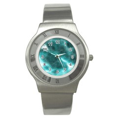 Light Web Colorful Web Of Crazy Lightening Stainless Steel Watch