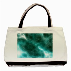 Light Web Colorful Web Of Crazy Lightening Basic Tote Bag (Two Sides)