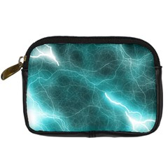 Light Web Colorful Web Of Crazy Lightening Digital Camera Cases