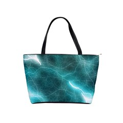 Light Web Colorful Web Of Crazy Lightening Shoulder Handbags
