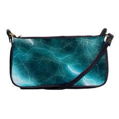 Light Web Colorful Web Of Crazy Lightening Shoulder Clutch Bags