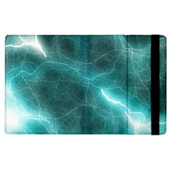 Light Web Colorful Web Of Crazy Lightening Apple iPad 3/4 Flip Case