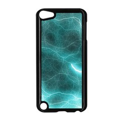 Light Web Colorful Web Of Crazy Lightening Apple iPod Touch 5 Case (Black)