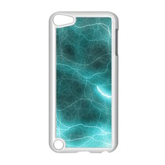 Light Web Colorful Web Of Crazy Lightening Apple Ipod Touch 5 Case (white)