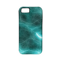 Light Web Colorful Web Of Crazy Lightening Apple Iphone 5 Classic Hardshell Case (pc+silicone)