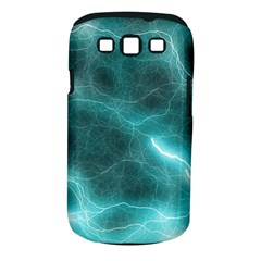 Light Web Colorful Web Of Crazy Lightening Samsung Galaxy S III Classic Hardshell Case (PC+Silicone)