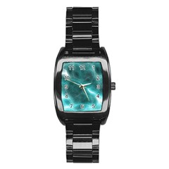 Light Web Colorful Web Of Crazy Lightening Stainless Steel Barrel Watch