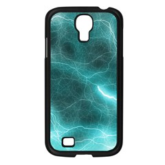 Light Web Colorful Web Of Crazy Lightening Samsung Galaxy S4 I9500/ I9505 Case (Black)