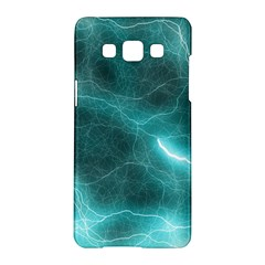 Light Web Colorful Web Of Crazy Lightening Samsung Galaxy A5 Hardshell Case