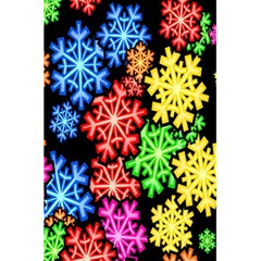 Colourful Snowflake Wallpaper Pattern 5.5  x 8.5  Notebooks