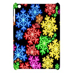 Colourful Snowflake Wallpaper Pattern Apple Ipad Mini Hardshell Case