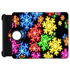 Colourful Snowflake Wallpaper Pattern Kindle Fire Hd 7