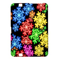 Colourful Snowflake Wallpaper Pattern Kindle Fire Hd 8 9