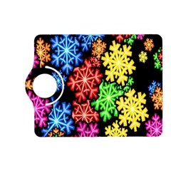 Colourful Snowflake Wallpaper Pattern Kindle Fire Hd (2013) Flip 360 Case