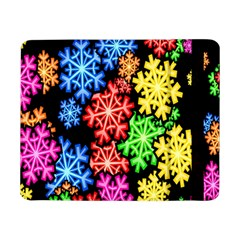 Colourful Snowflake Wallpaper Pattern Samsung Galaxy Tab Pro 8.4  Flip Case