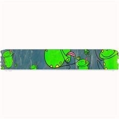 Cartoon Grunge Frog Wallpaper Background Small Bar Mats